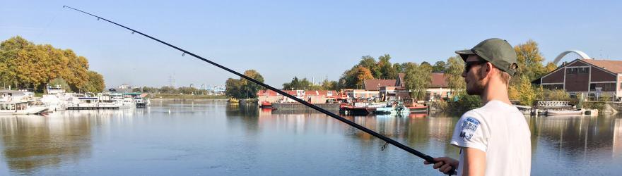 La pêche urbaine, bulle de tranquillité