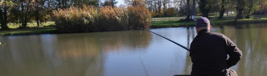 Le carpiste a la pêche !