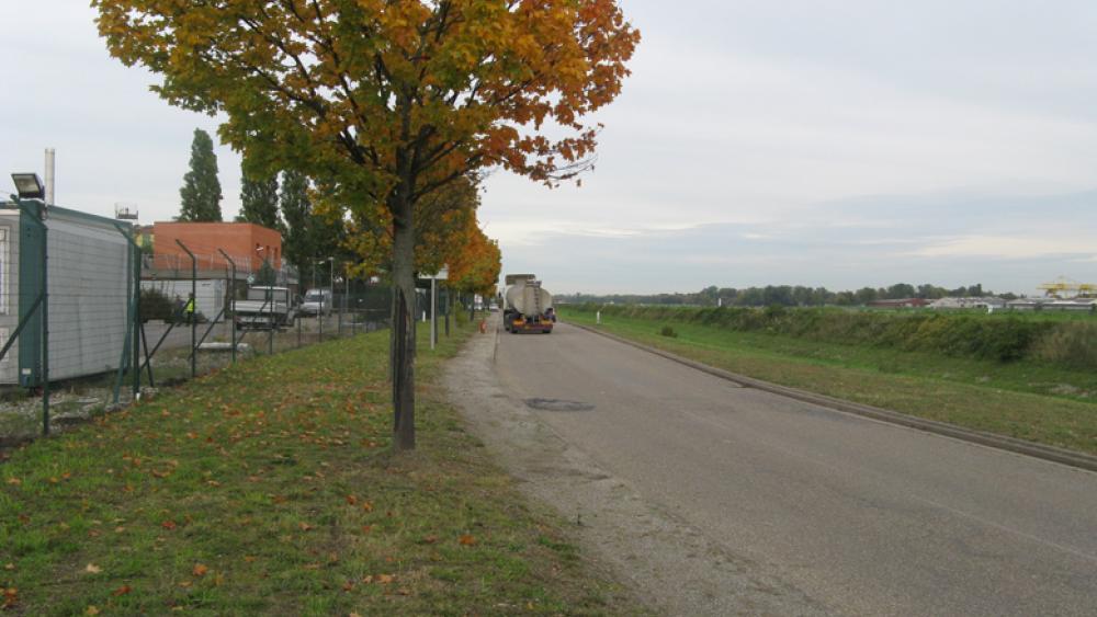 Après la fermeture, les travailleurs auront besoin d'une autorisation pour circuler sur le quai Jacoutot.