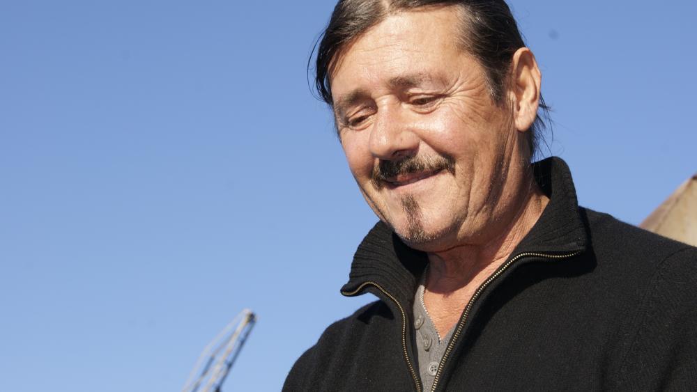 Christian Reb pêche depuis 40 ans.