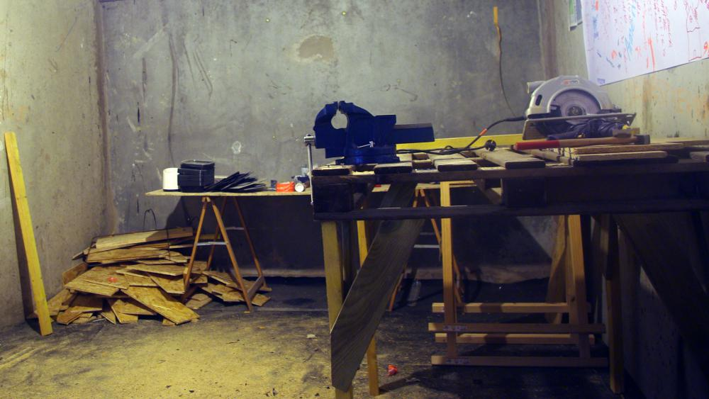 L'un des deux ateliers mis à disposition par l'association Horizome.