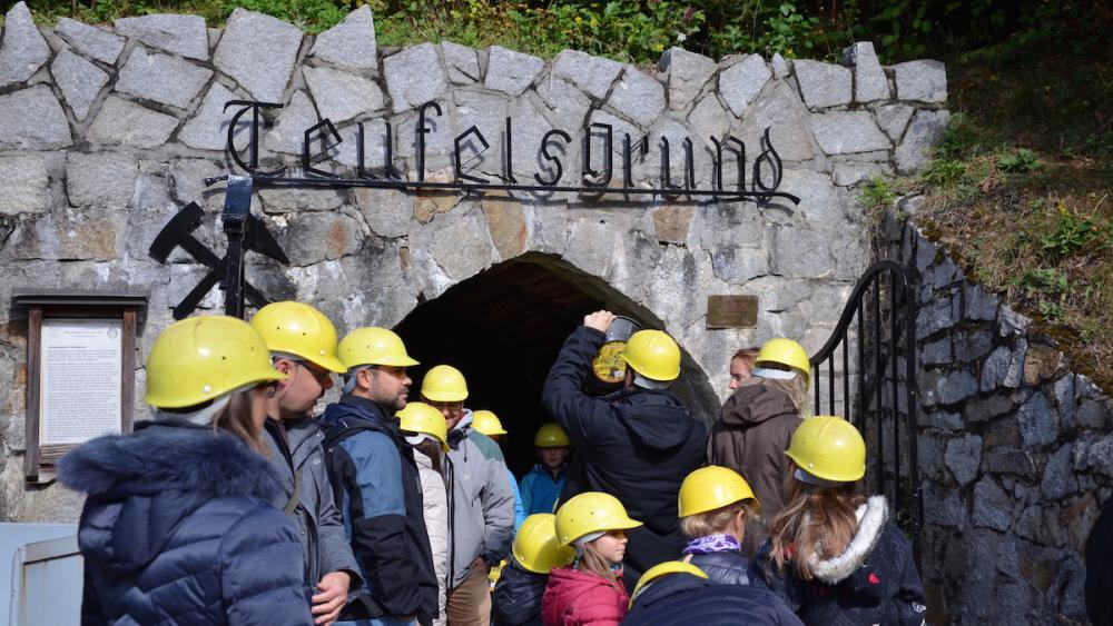 La mine d'argent Teufelsgrund en Forêt noire est fermée depuis 1958.