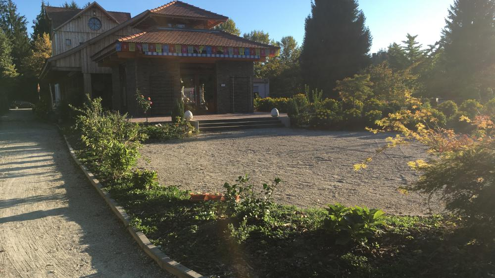 La suite de la méditation se fait à la pagode de la Robertsau.