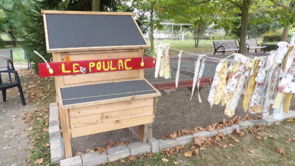 Le poulailler a été appelé Le Poulac.