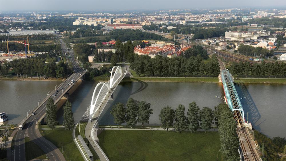 La mise en service du tramway est prévue en avril 2017. Crédit Cyrille THOMAS-Architecte Marc BARANI
