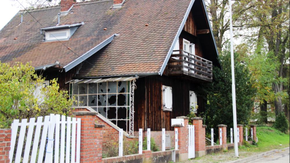 4 rue du Péage, ancienne maison de Joseph et Monique Nitz, la Ville a racheté les lieux.