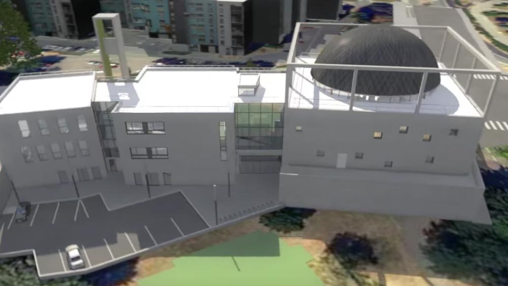 Les trois tranches du centre Avicenne une fois que tous les travaux seront terminés