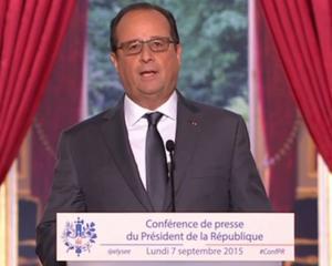 Syrie, réfugiés, impôts: Ce qu'il faut retenir de l'intervention de François Hollande