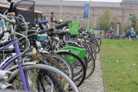 vélos à Strasbourg